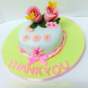 Personal Size Thank you Cake