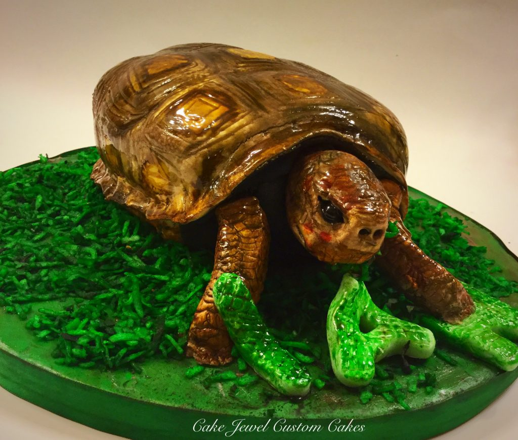 Yummy Majestic Turtle Pet Cake