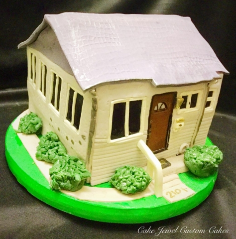 Custom House Cake