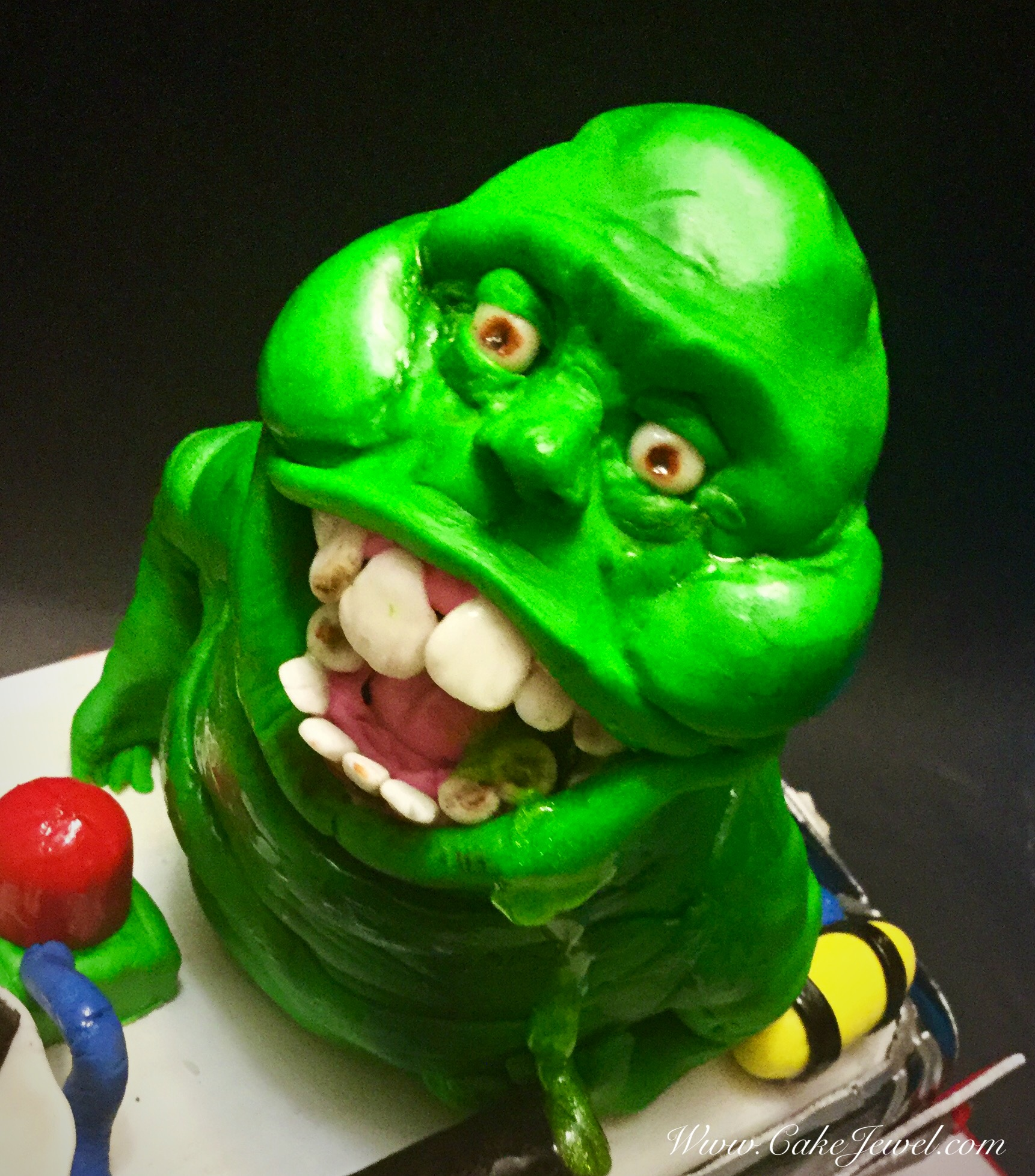 Ghostbusters Slimmer Cake Topper