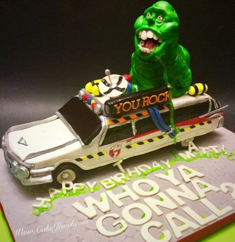 Ghostbusters Ecto 1A & Slimmer Cake