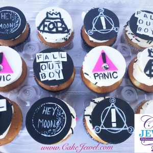 Rock Band Cupcakes