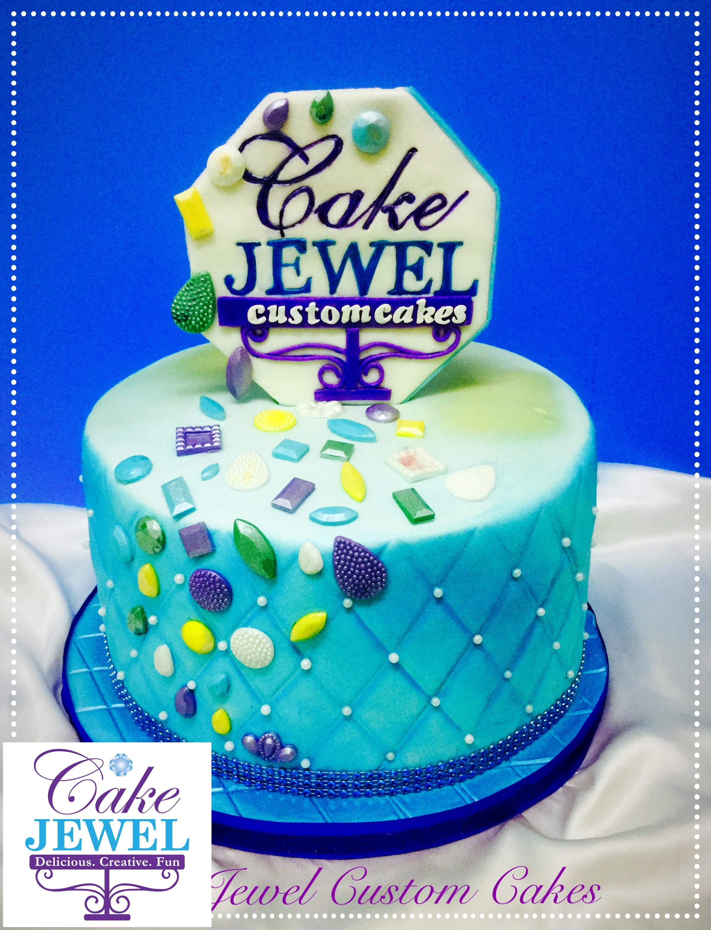 Cake Jewel and Diamonds  Logo Cake