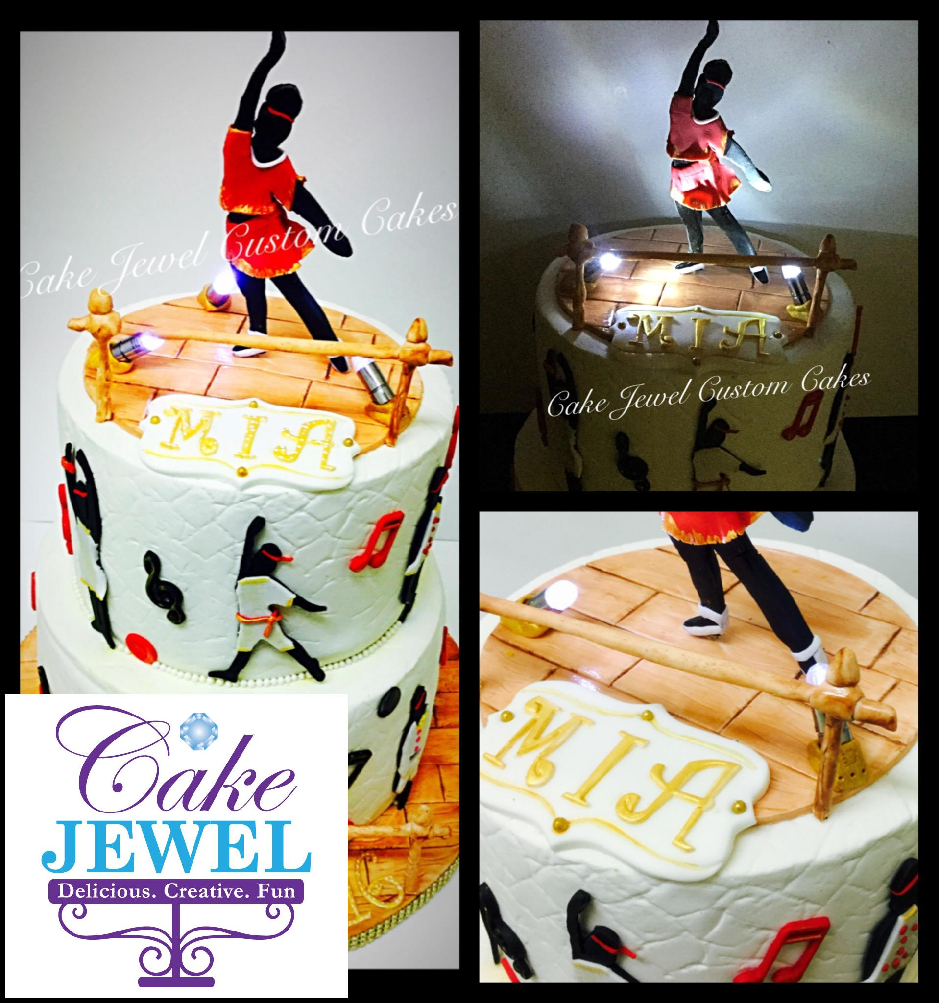 Dancer's Stage cake