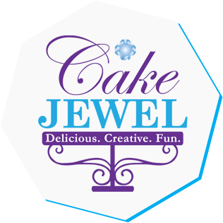 Cake Jewel Custom Cakes Logo