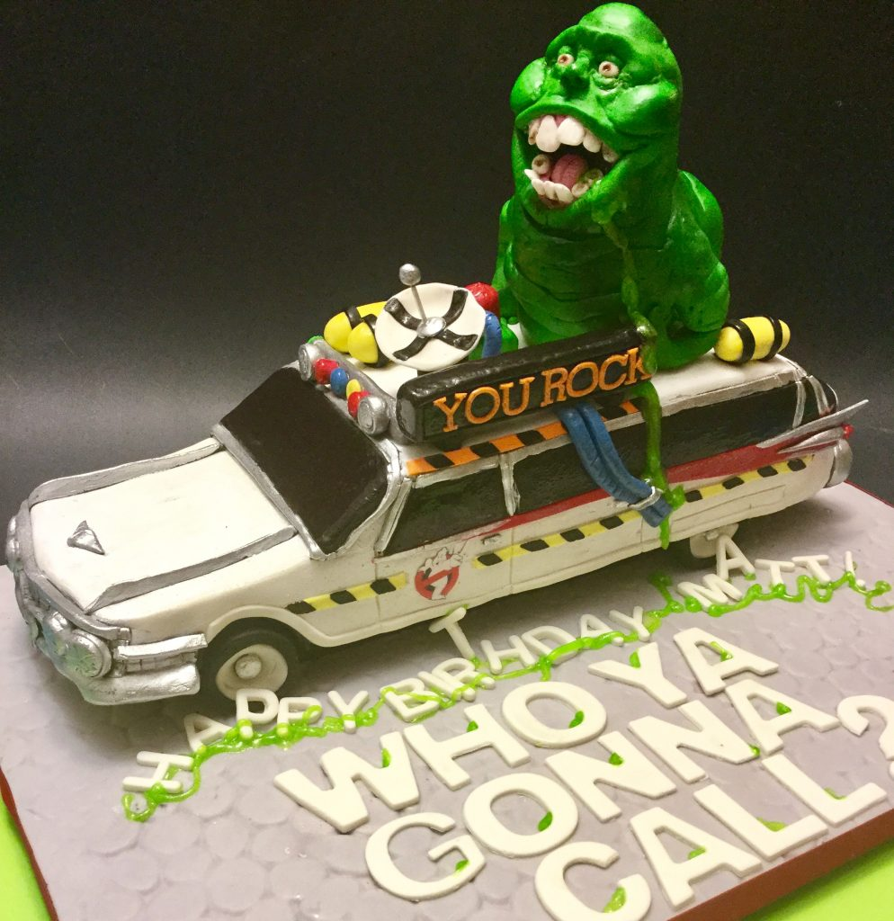 Ghostbuster's Car cake1