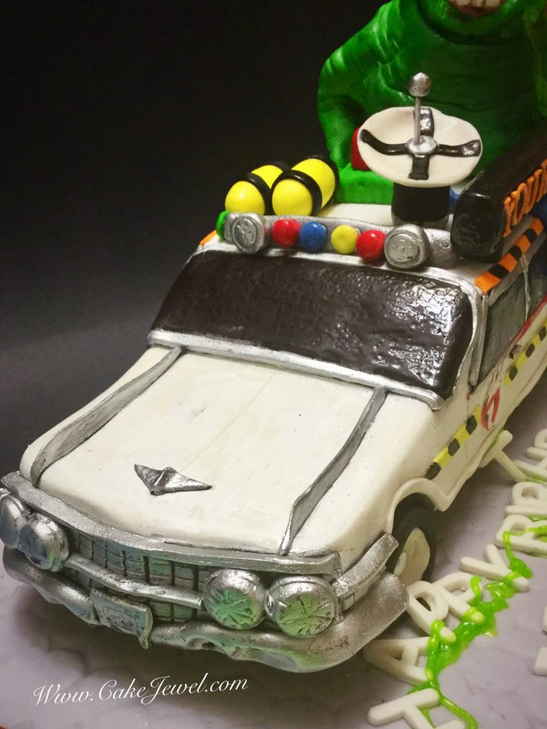 Ghostbuster's Car cake