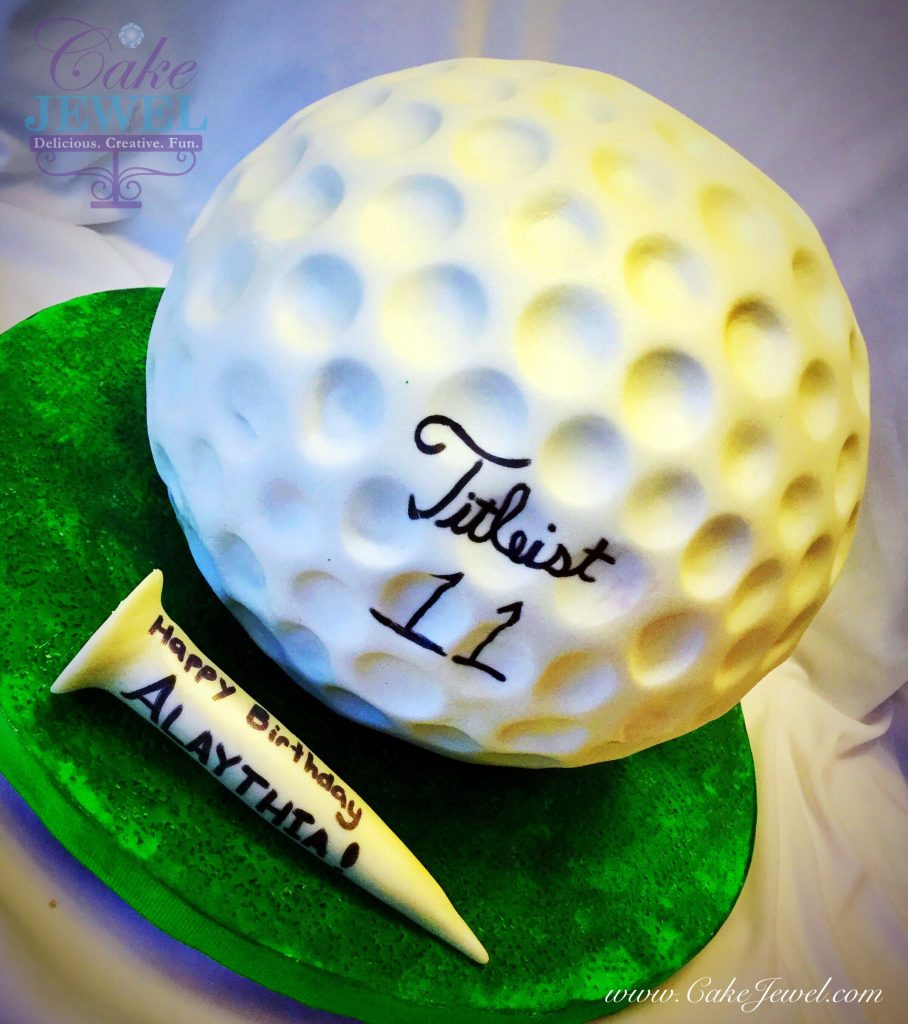 Gigantic Golfball cake