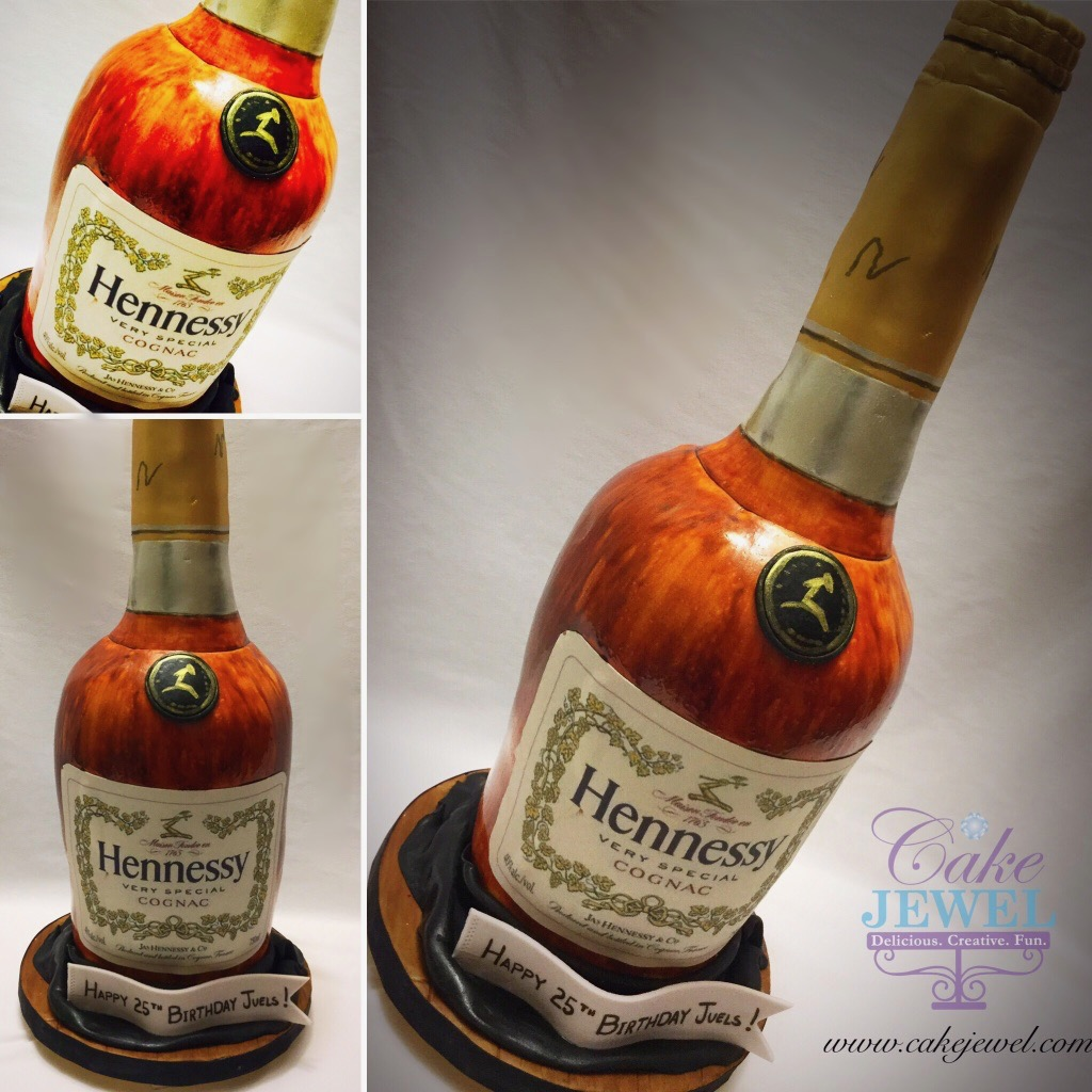 Whiskey Bottle Cake