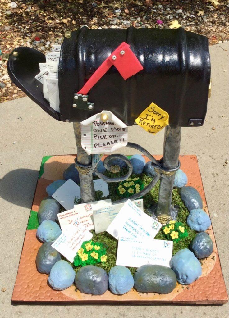 Mailbox cake