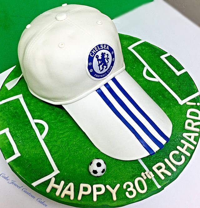 Chelsea Football Club hat cake