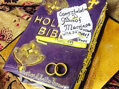 Family Bible Cake