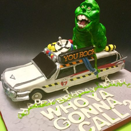 Ghostbusters Car Cake