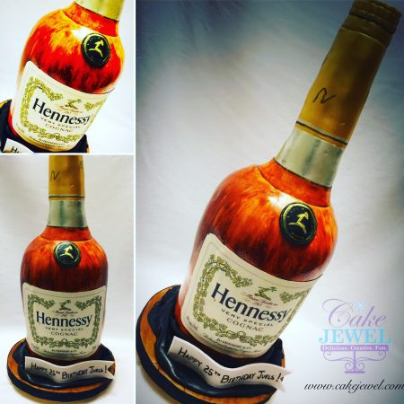 Brandy Bottle Cake