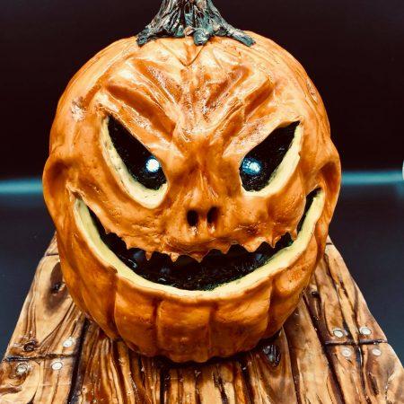 Jack-O'lantern Cake